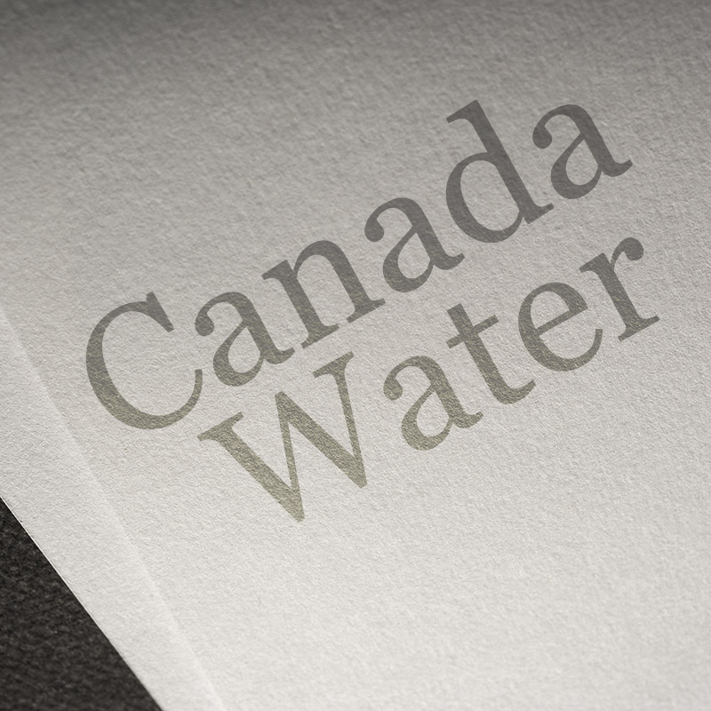Canada Water Scrollover